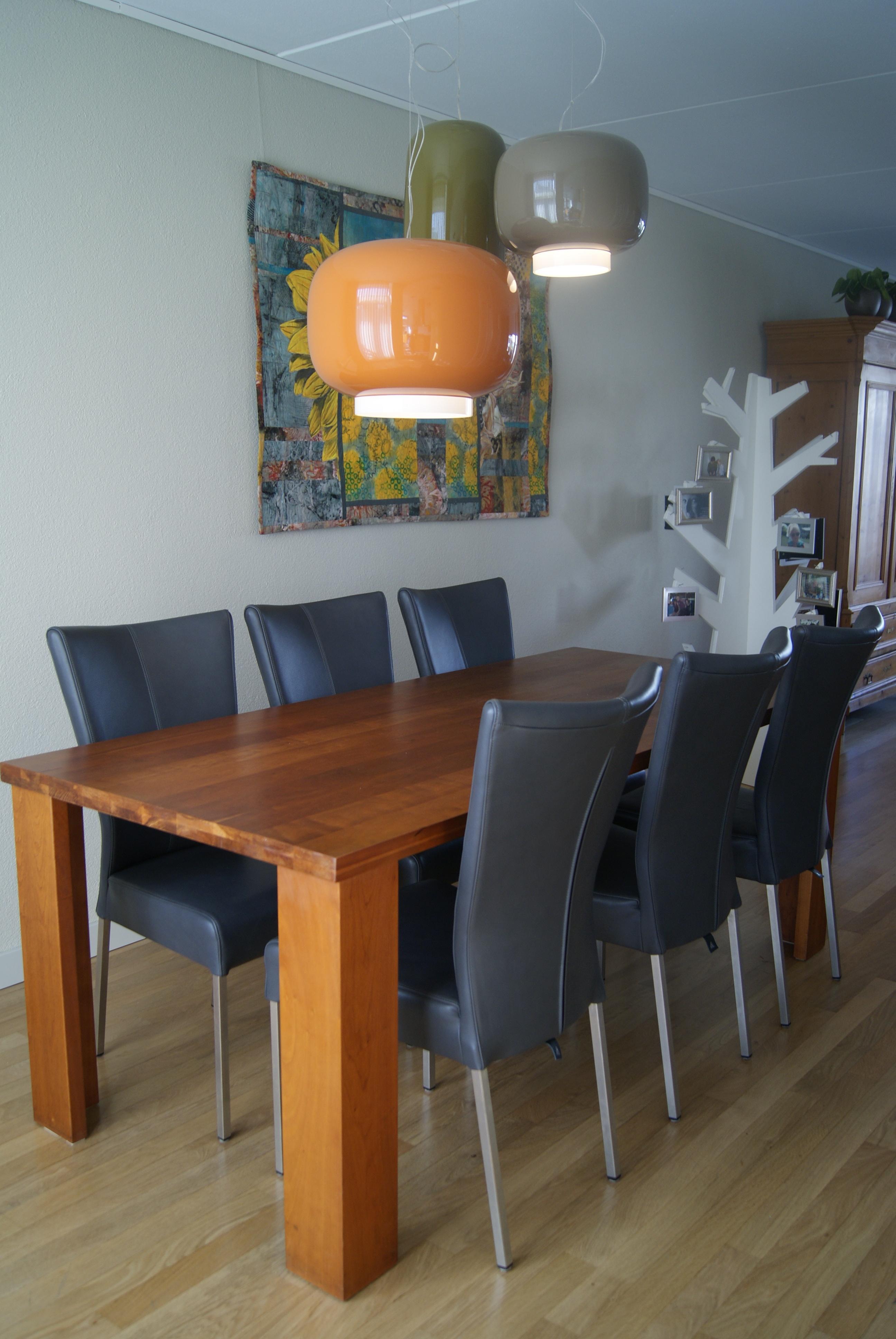 Woning tiel muller wonen goirle - Glazen tafel gesmeed ijzer en stoelen ...